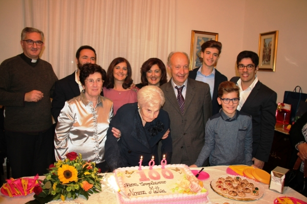 Marsala: Nonna Mattia compie 100 Anni