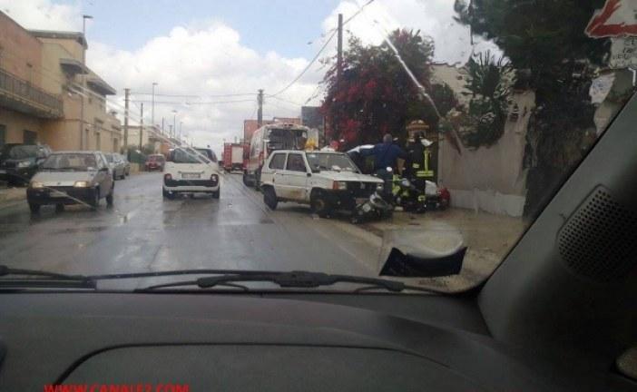Marsala: Gravissimo incidente in Via Trapani