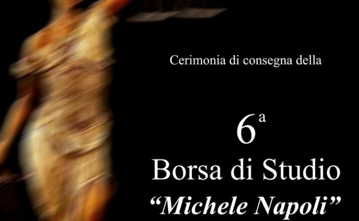 6° Borsa di Studio alla studentessa Simona Ingrassia