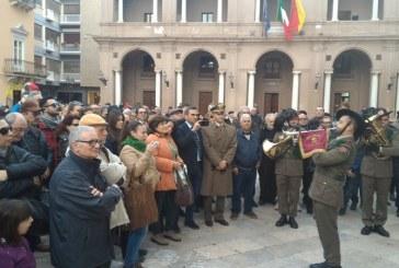 Esibizione della  Fanfara dei Bersaglieri a Marsala