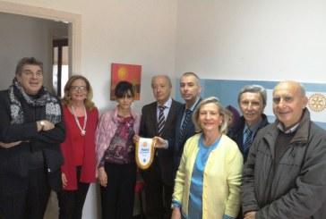 """Il Rotary club Service di Marsala rende più accogliente lo """"spazio neutro"""" per i minori."""