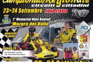 X PROVA CAMPIONATO REGIONALE DI KARTING Sabato 23 e Domenica 24 Settembre prova dei Circuiti Cittadini