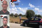 MAZARA DEL VALLO: PADRE E FIGLIO ARRESTATI DAI CARABINIERI PER FURTO
