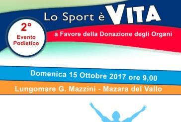 LO SPORT E' VITA  Evento podistico in favore della donazione degli organi