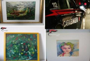 I Carabinieri sgominano una banda di falsari di arte contemporanea, attiva tra la Sicilia e l'Emilia Romagna.