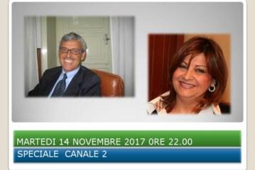 MARTEDI 14 NOVEMBRE 2017 SU' CANALE 2 SPECIALE DTT 297