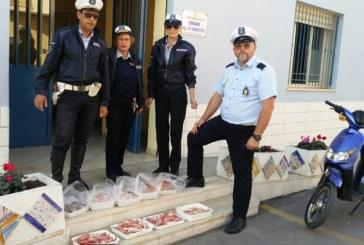 MAZARA, LA POLIZIA MUNICIPALE SEQUESTRA 25 KG DI PRODOTTO ITTICO AD IGNOTI COMMERCIANTI ABUSIVI