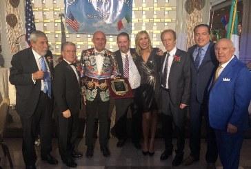 PREMIATO A NEW YORK ORIUNDO MADONITA PRESIDENTE DELL'ASSOCIAZIONE G.B. CARUSO, A VINCENZO ARMANO RICONOSCIMENTO PER AVERE DIFFUSO E PRESERVATO CULTURA ITALIANA NEGLI USA 28 ottobre 2019