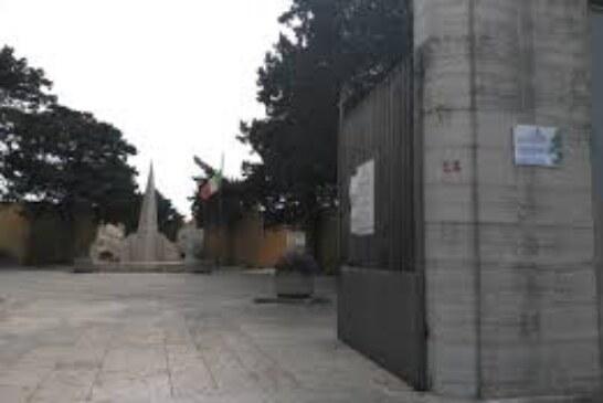 Commemorazione dei defunti e Giornata dell'Unità Nazionale Disposta la pulizia straordinaria del cimitero comunale per giovedì 31 ottobre Petrosino, 29.10.2019