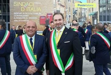 IL SINDACO PERAINO A ROMA ALL'EVENTO DI POSTE ITALIANE- COMUNICATO STAMPA