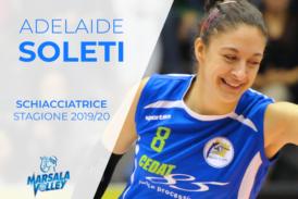 Sigel Marsala Volley: Adelaide Soleti si aggiunge alla Prima Squadra
