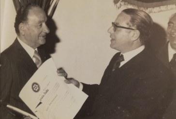 """Domani il Rotary Club Marsala donerà un busto alla memoria del suo primo Presidente Ernesto Del Giudice all'Istituto """"Abele Damiani """""""