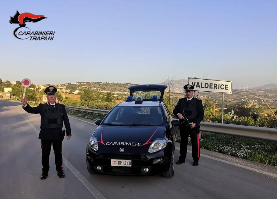 VALDERICE: ARRESTATO 74ENNE DAI CARABINIERI PER ESTORSIONE