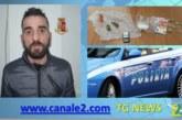 ALCAMO: TRASPORTAVA IN AUTO COCAINA E MARIJUANA DESTINATA ALLO SPACCIO PREGIUDICATO ARRESTATO DALLA POLIZIA DI STATO