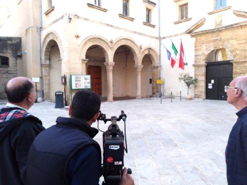 MARSALA: TROUPE TELEVISIVA MALTESE IN CITTA'