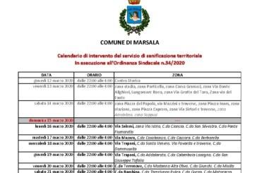 EMERGENZA CORONAVIRUS.  PROSEGUE LA SANIFICAZIONE NEL TERRITORIO INTERVENTI  ANCHE IN UFFICI, SEDI COMUNALI E NELLE SCUOLE