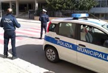 TRAPANI:controlli Polizia Municipale